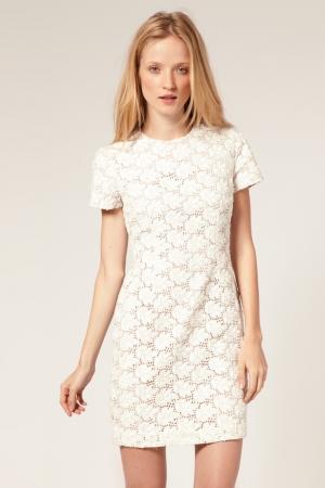 Petite robe blanche mango